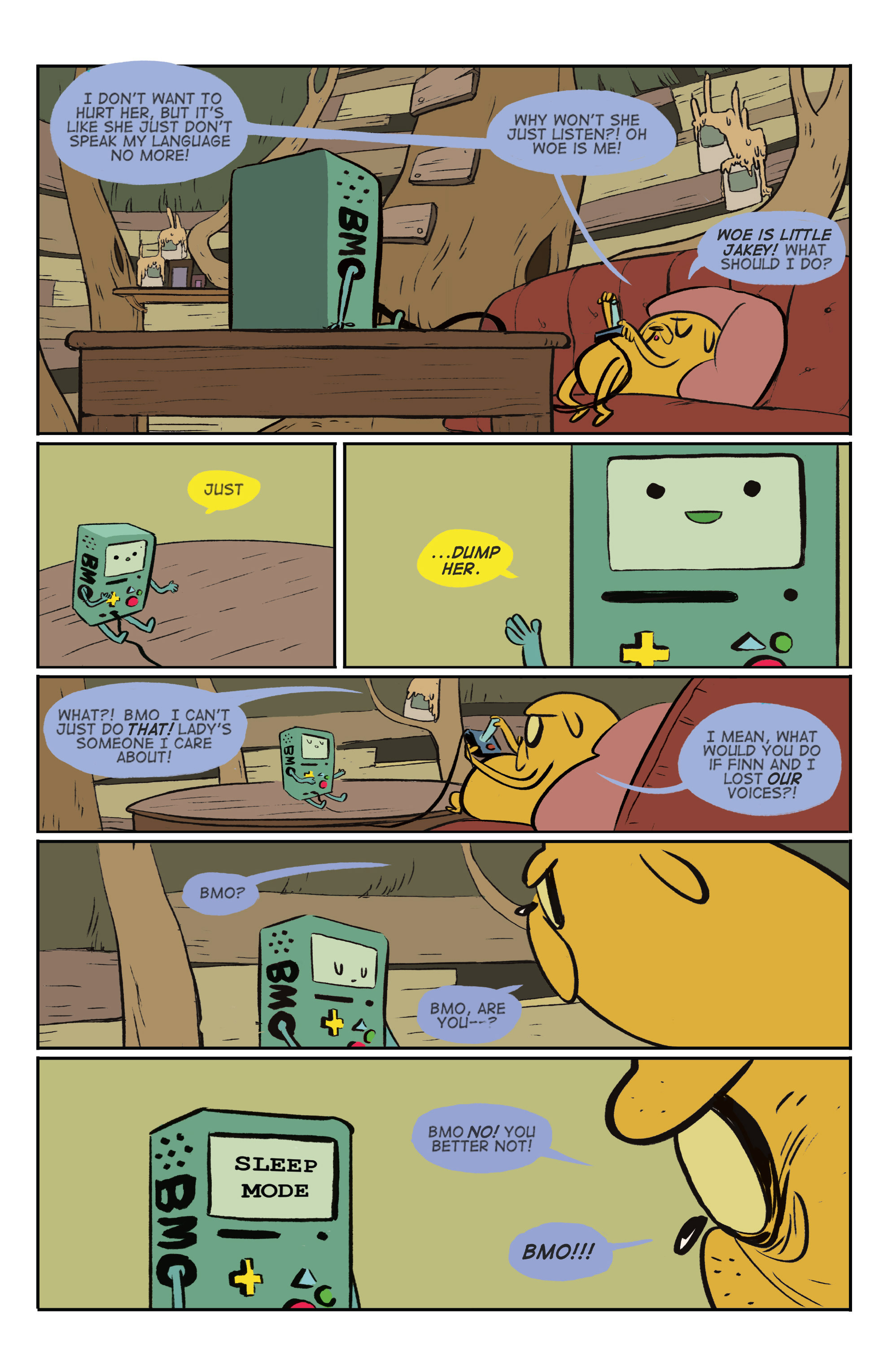 Read online Adventure Time: Marceline and the Scream Queens comic -  Issue #5 - 25