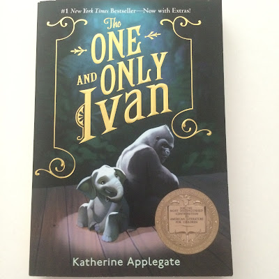 The One and Only Ivan by Katherine Applegate gets 5 out of 5 stars in my book review.  This Newbery Award winning book is absolutely fantastic and deserves this high honor.  This inspiring and fun book makes a great read aloud for parents and teachers alike.  Boys and girls, especially animal lovers, will adore this read.  Alohamora Open a Book http://alohamoraopenabook.blogspot.com children's chapter books juvenile lit, 1st, 2nd, 3rd, 4th, 5th, 6th Best Book