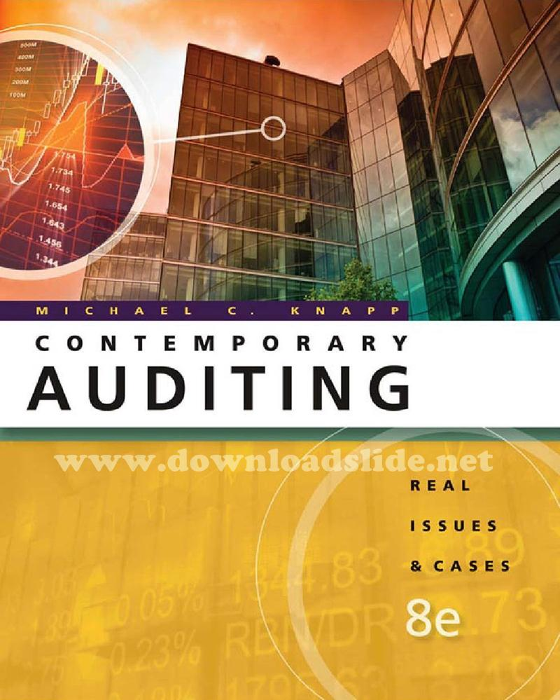 Ebook auditing and assurance services 14th edition by arens elder ebook contemporary auditing 8th edi fandeluxe Images
