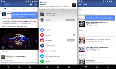 طريقة حفظ فيديو على فيسبوك بدون إنترنت