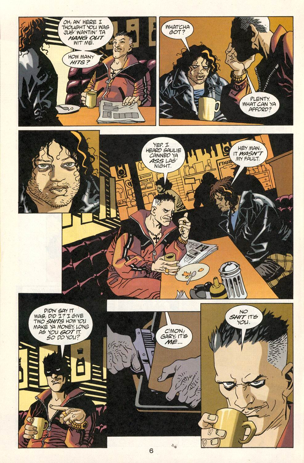 Read online 100 Bullets comic -  Issue #22 - 7
