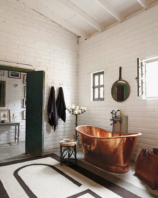 What is Bridget Beari Dreaming About...Copper Tubs!