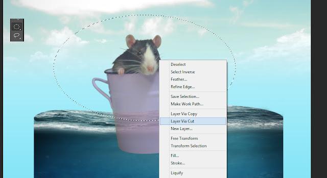 manipulasi photoshop, underwater tutorial, efek photoshop