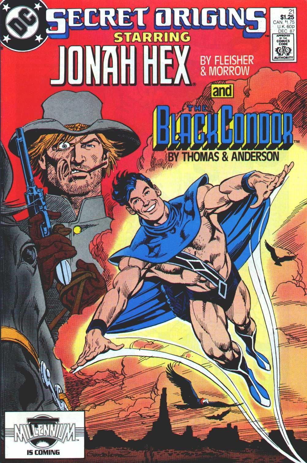 Read online Secret Origins (1986) comic -  Issue #21 - 1