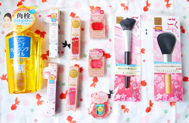 Japan cosmetics haul and review May 2016