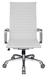 Modern White Office Chair