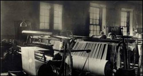 Antiga fábrica de tecidos