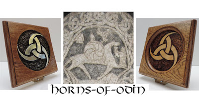 Horns of Odin wall plaques