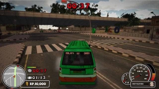 Download Angkot The Game PC Gameplay