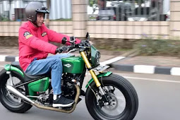 Motor Kustom Terbaru Jokowi, Keren Banget