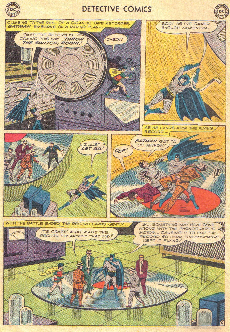Read online Detective Comics (1937) comic -  Issue #267 - 10