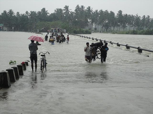 Heavy rains in South Asia