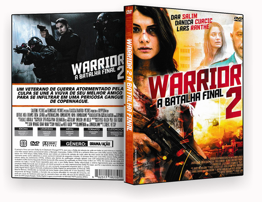 CAPA DVD – WARRIOR 2 A BATALHA FINAL DVD-R
