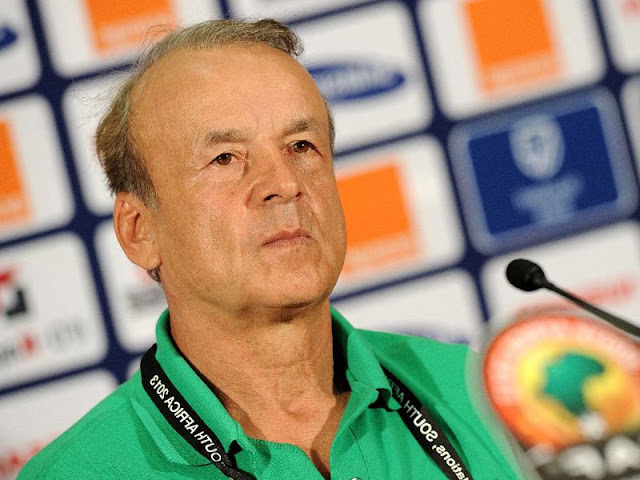 Image result for I'm not leaving Super Eagles for Bordeaux job - Rohr