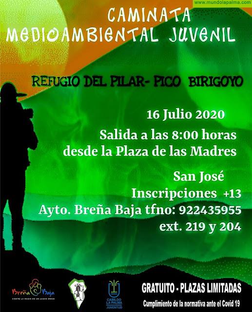 BREÑA BAJA: Caminata Juvenil al Birigoyo
