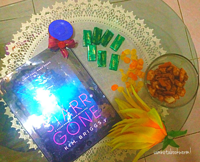 Starr Gone (Starr Fall #3) by Kim Briggs | A Book Review by iamnotabookworm!