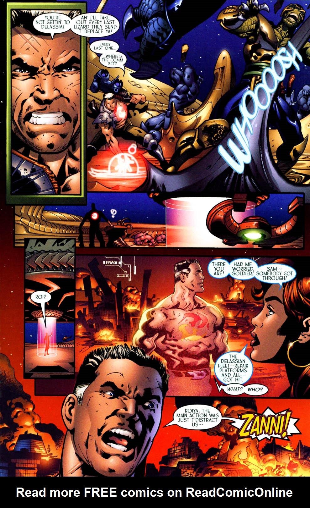 Read online Sigil (2000) comic -  Issue #11 - 16