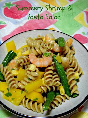Adventures in my Kitchen: Summery Shrimp & Pasta Salad