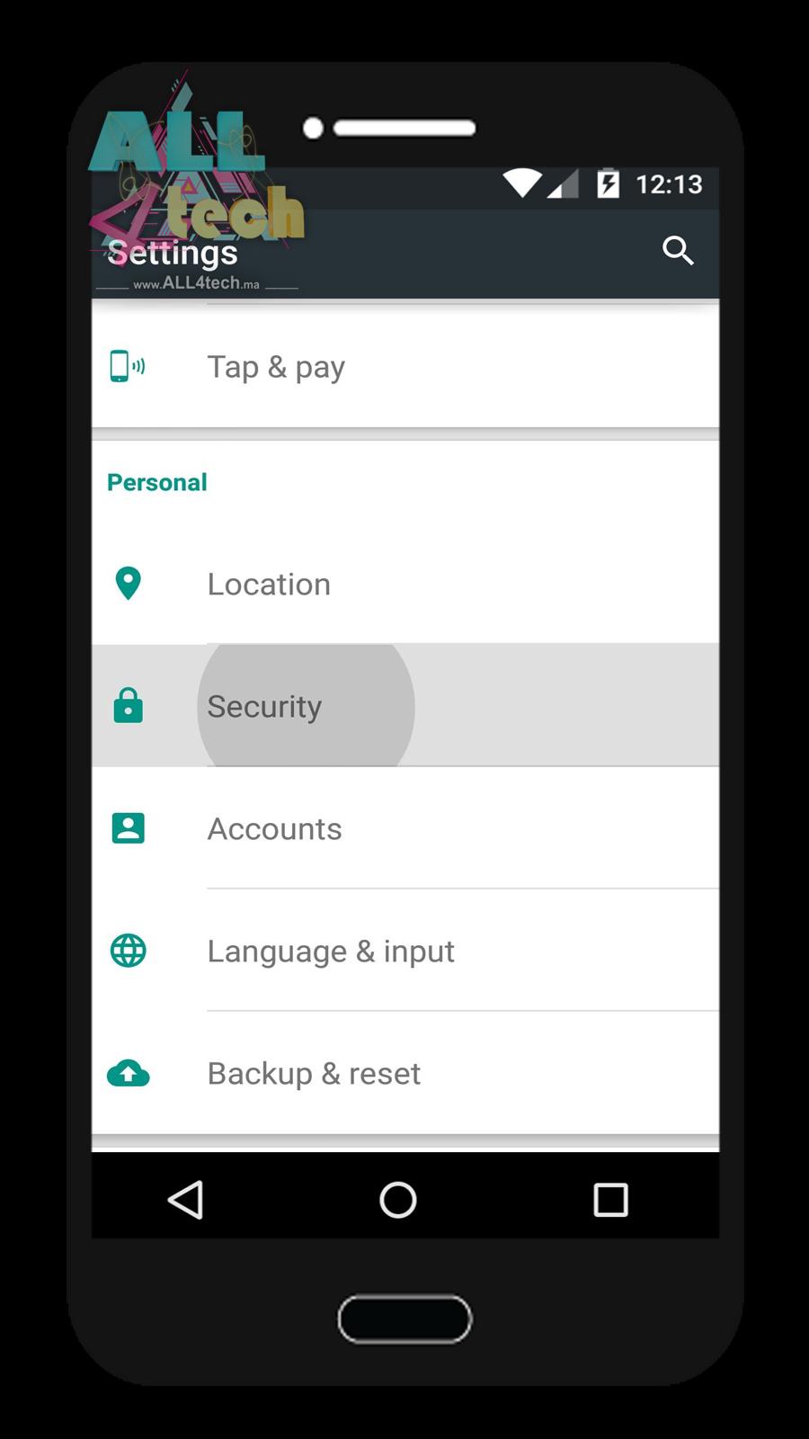 كيفية تثبيت التطبيقات في الاندرويد Android من مصادر غير معروفة