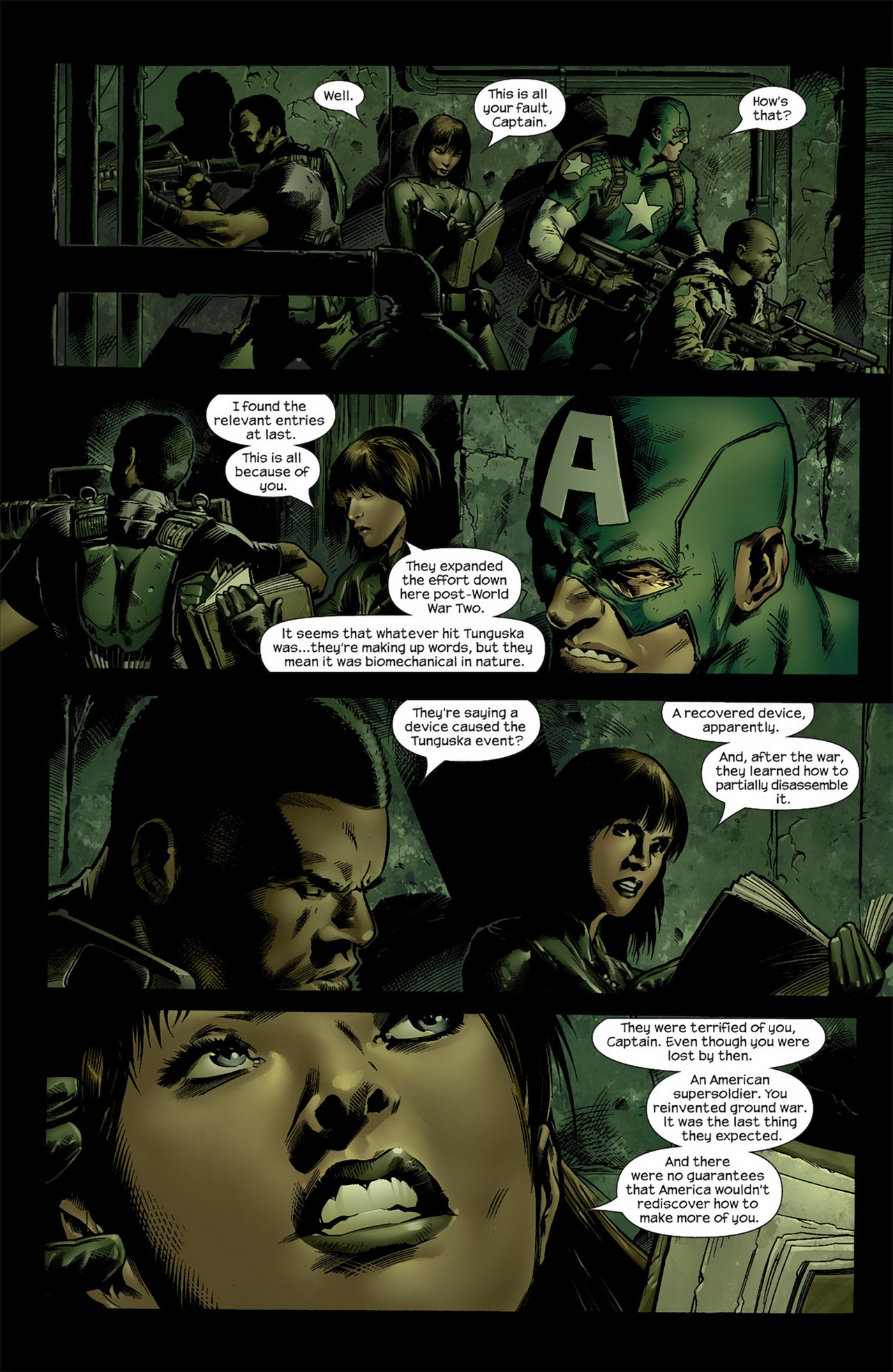 Read online Ultimate Nightmare comic -  Issue #4 - 3