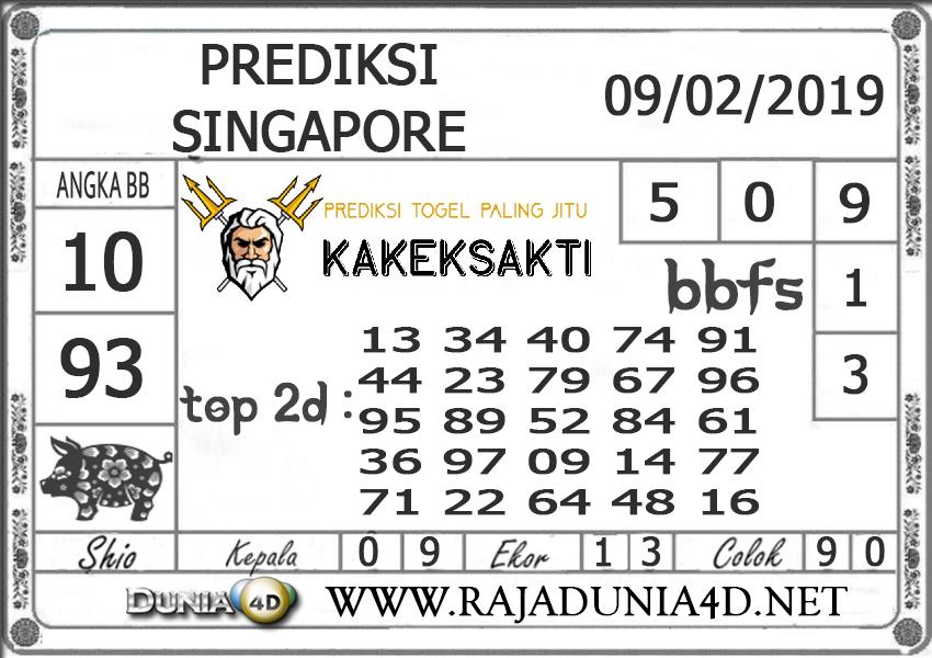 Prediksi Togel SINGAPORE DUNIA4D 09 JANUARI 2019
