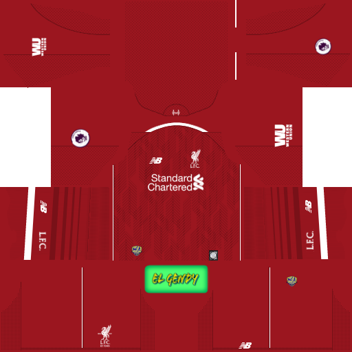 Liverpool 2018 19 Kit   Logo  da6fa1637