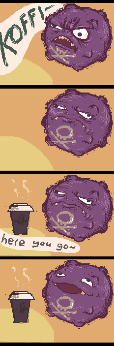 Get Koffing his Coffee