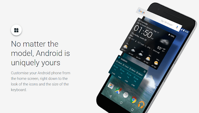 #myAndroid : Google's New Online tool to Customize your Android Phone MakeOver As Per ur Choice