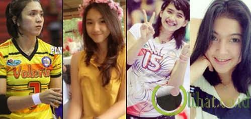 7 Atlet Bola Voli Proliga Indonesia Tercantik dan Terseksi