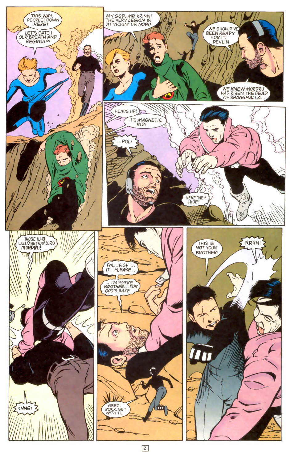 Legion of Super-Heroes (1989) 46 Page 2