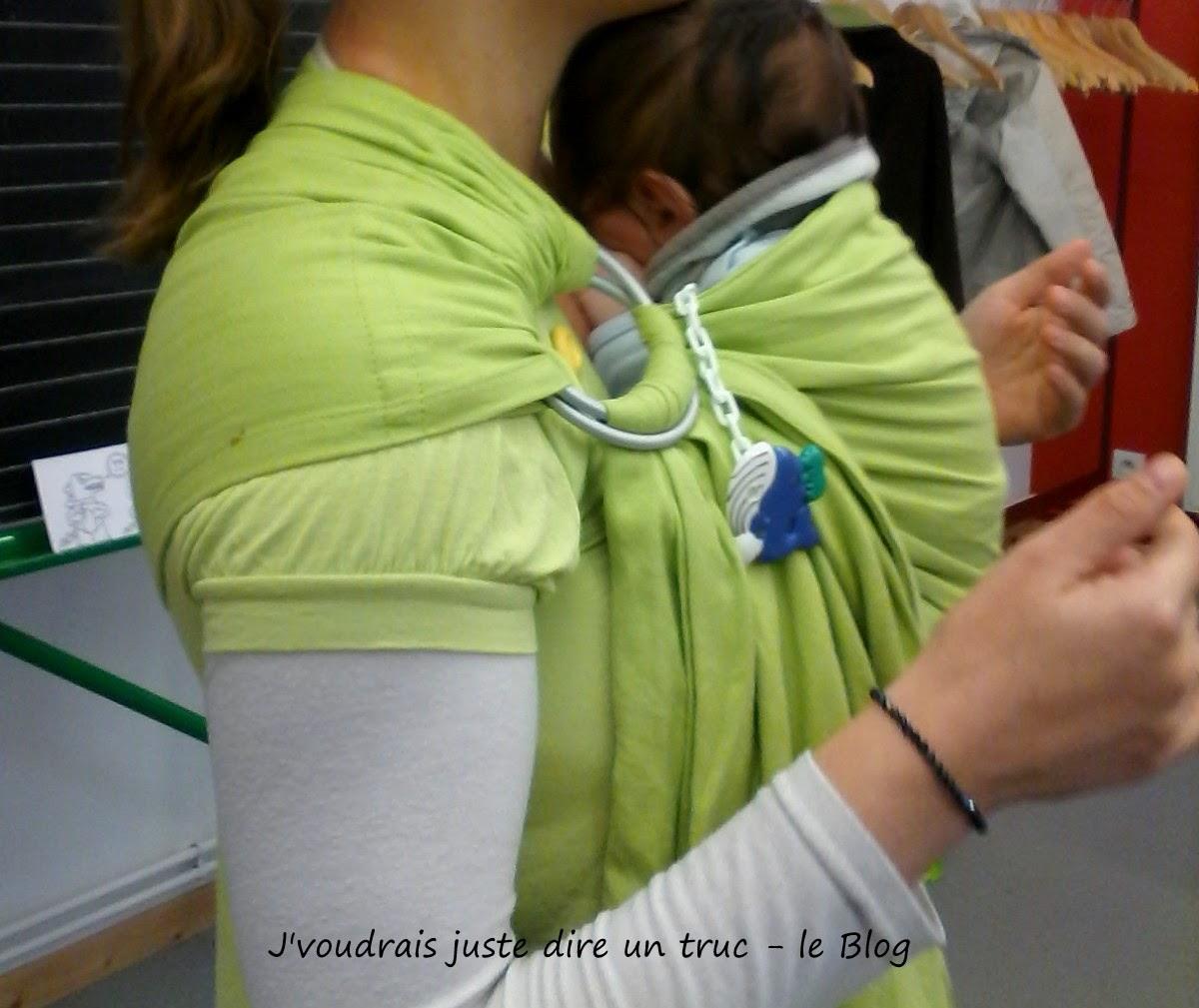 colimaçon et cie tissu écharpe coudre sling portage review avis