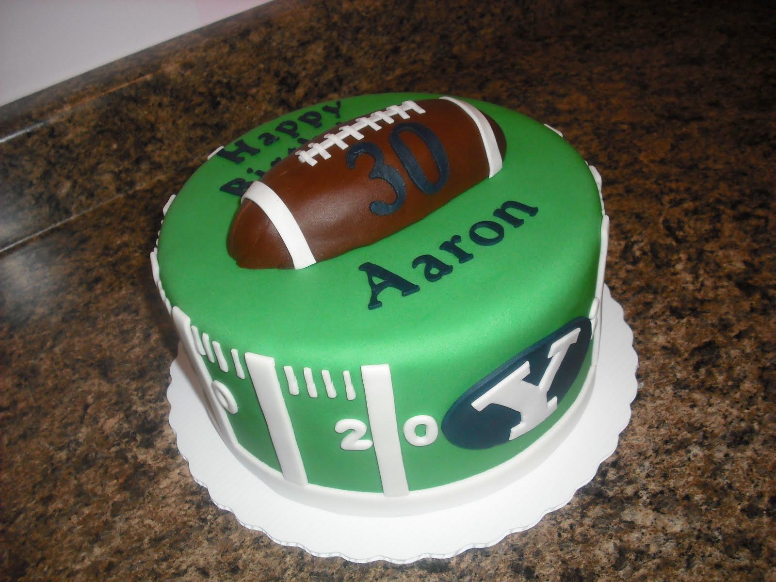 Sprinklebelle Cakes Byu Football Cake