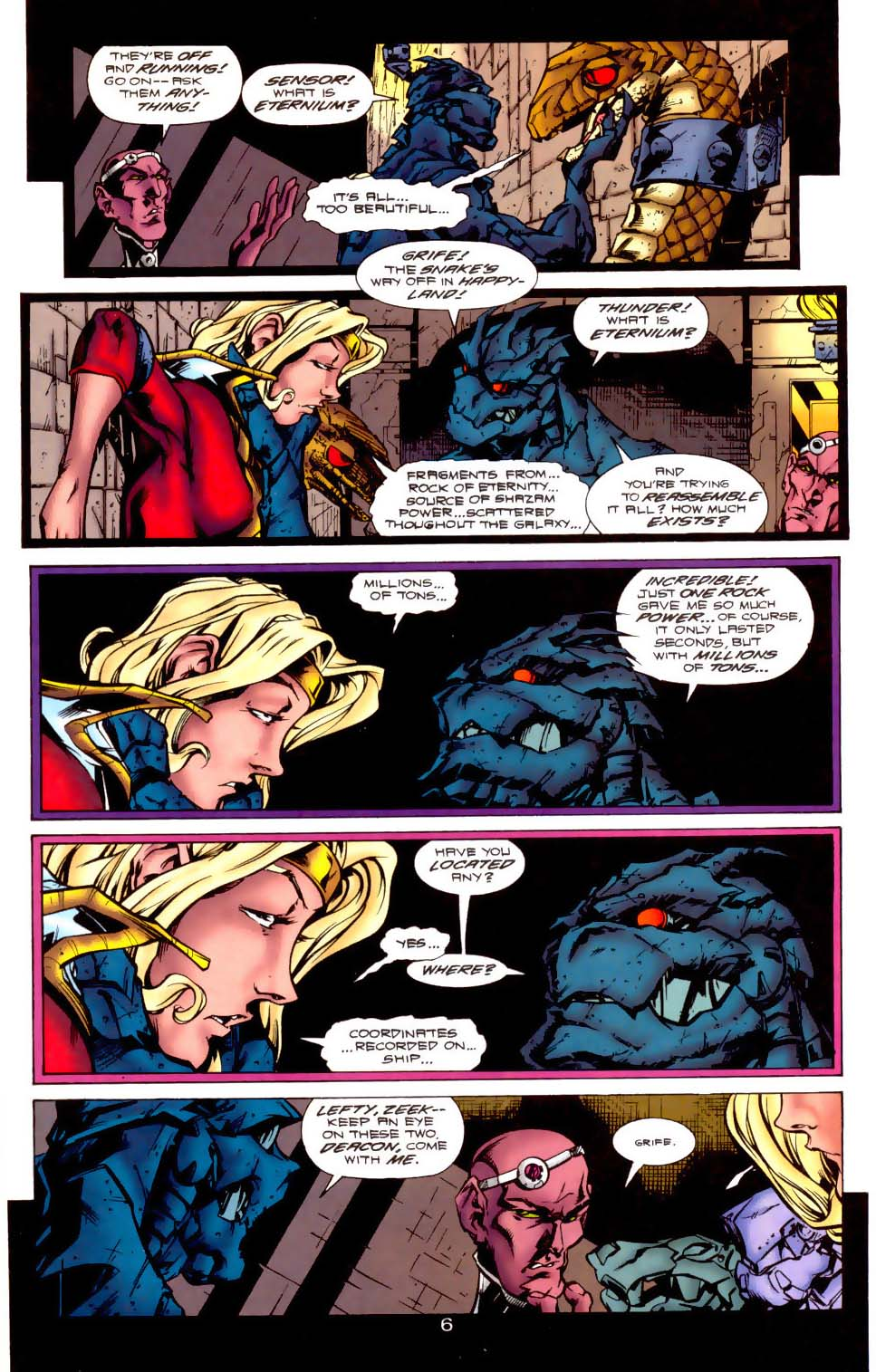 Legion of Super-Heroes (1989) 116 Page 6