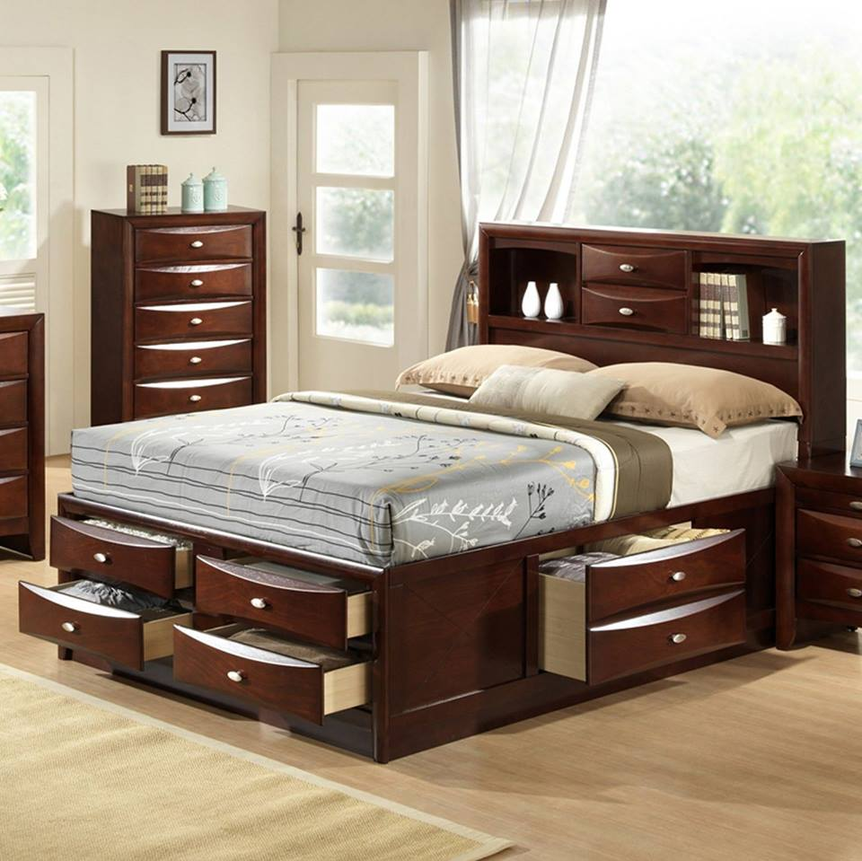 60 Incredible Queen Sized Beds With Storage Drawers