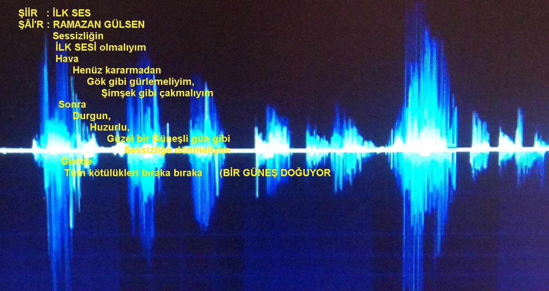 Ilk Ses şiir Ramazan Gülsen
