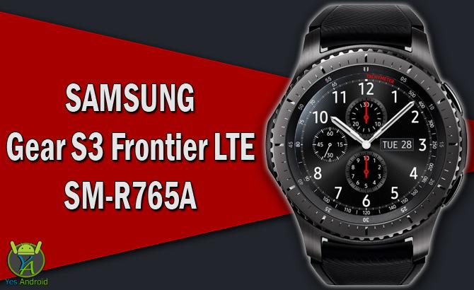 Samsung Gear S3 Frontier LTE SM-R765A Specs Datasheet