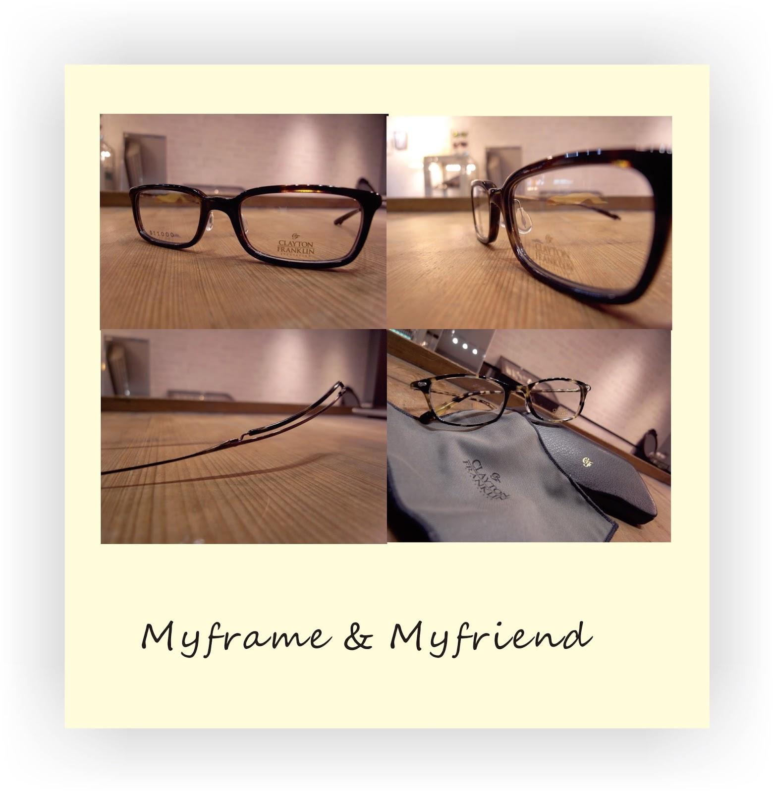 集框眼鏡行: CLAYTON FRANKLIN 眼鏡強烈濃郁的英倫氣息任誰也無法輕易放手