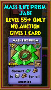 Mass Life Prism - Wizard101 Card-Giving Jewel Guide