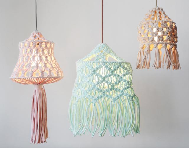 7 diy para crear una lámpara de diseño