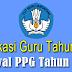 Penetapan Peserta PPG Dan Jadwal PPG Dalam Jabatan Tahun 2018
