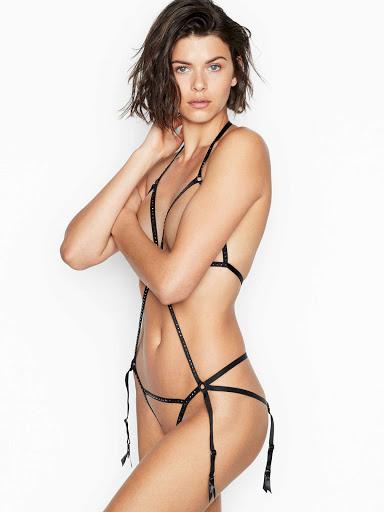 Georgia Fowler hot body in model photo shoot for  Victoria's Secret sexy lingerie