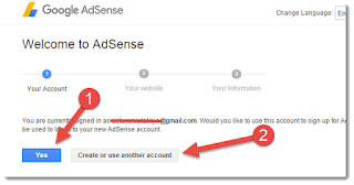 How to Create Adsense Account – Step through step manual for Beginners