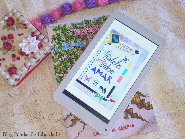 infantojuvenil, ebook, Resenha, quote, livro, Violeta não sabe amar, Lucinei Campos