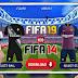جديد: لعبة فيفا 19 مود فيفا 14 بالاطقم واخر الانتقالات 14 FIFA 19 Mod FIFA بدون نت