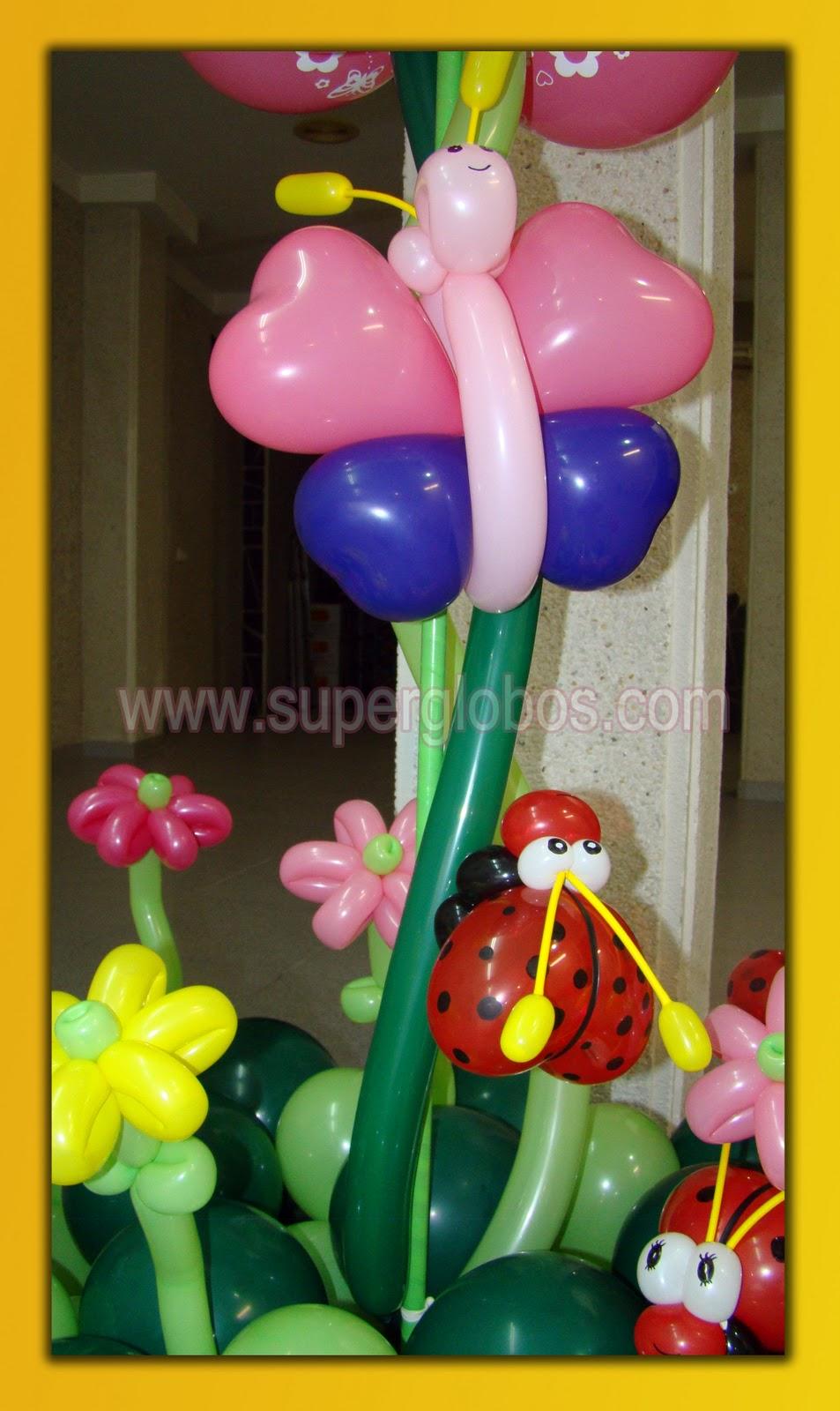 Dise os con globos para fiestas infantiles decoraci n - Globos para eventos ...