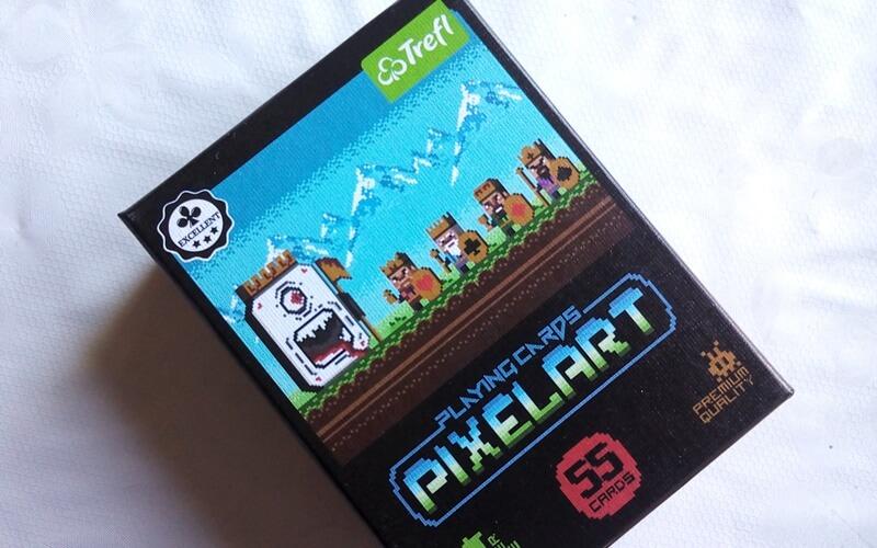 pixelart karty minecrafta