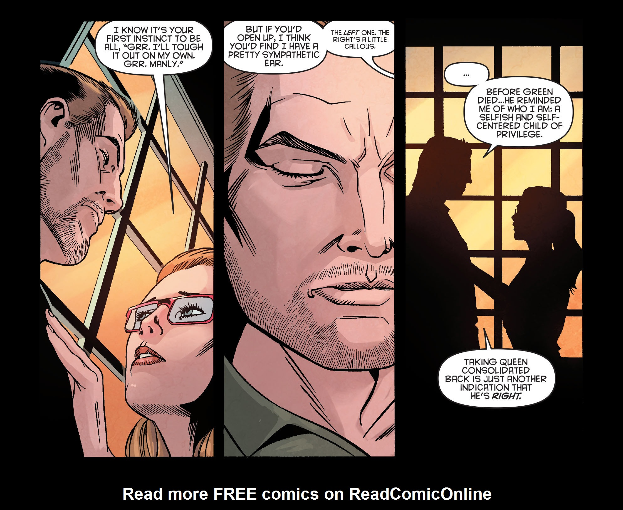 Read online Arrow: Season 2.5 [I] comic -  Issue #23 - 14
