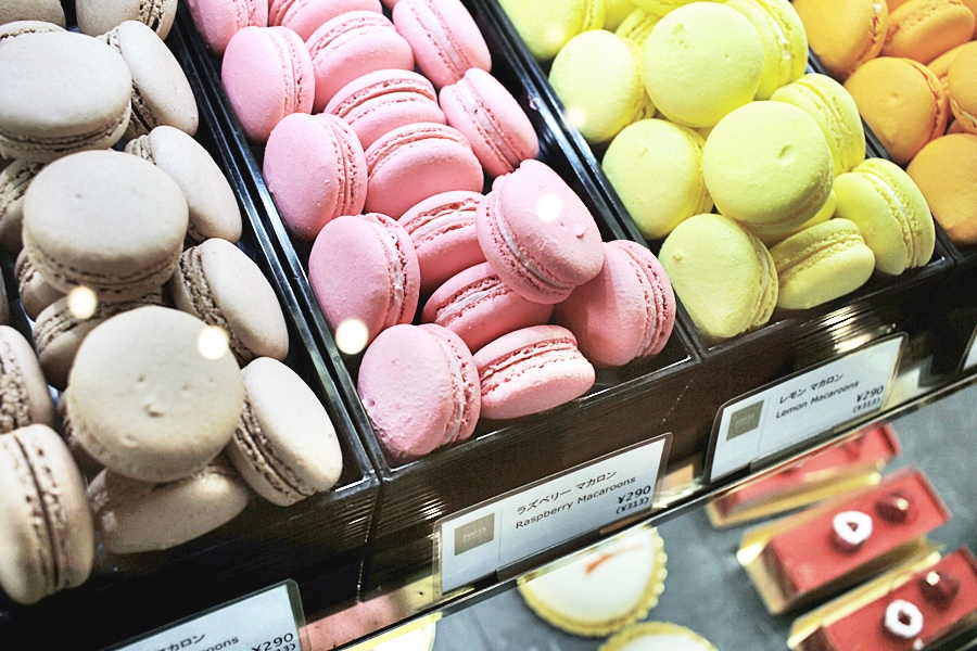 macaron french food