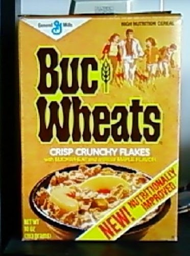 Gen Xtinct Funky Food Friday Buc Wheats Cereal