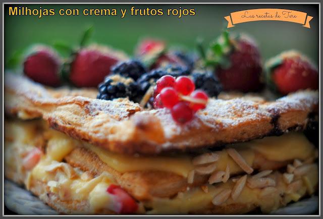 milhojas rellenas de crema pastelera y frutos rojos 01